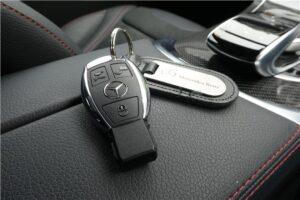Ключ зажигания Mercedes-Benz